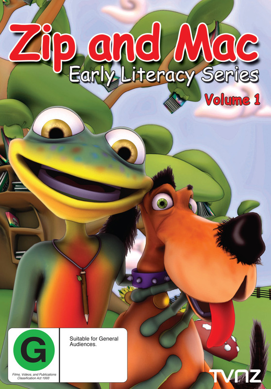 Zip And Mac : Early Literacy Series (Volume 1) DVD