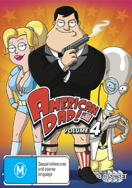 American Dad! - Complete Season 4 Collection (3 Disc Set) on DVD