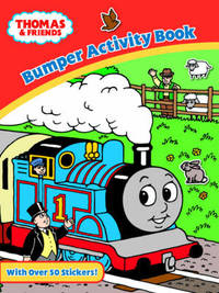 Thomas and Friends Bumper Activity Book image
