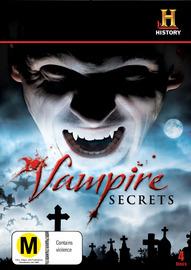 Vampire Secrets (4 Disc Set) on DVD