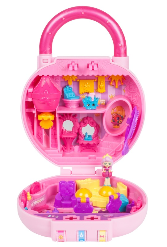 Shopkins: Little Secrets Mini Playset (S2) - Princess Hair Salon