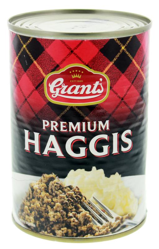 Grant's Premium Haggis (392g) 6 PACK
