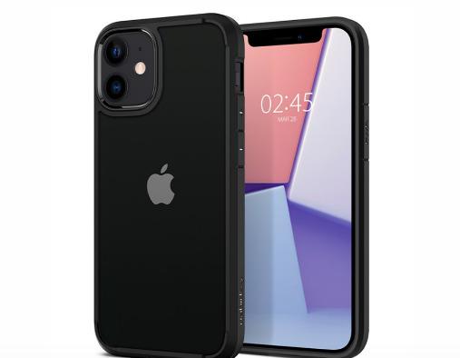 "Spigen Ultra Hybrid iPhone 12 Mini Case (5.4"") - Matte Black"