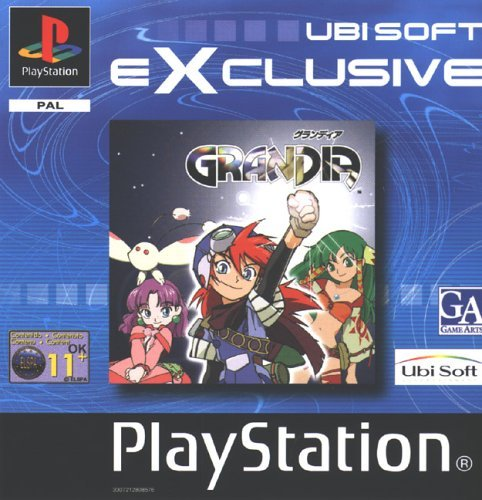 Grandia for PlayStation 2