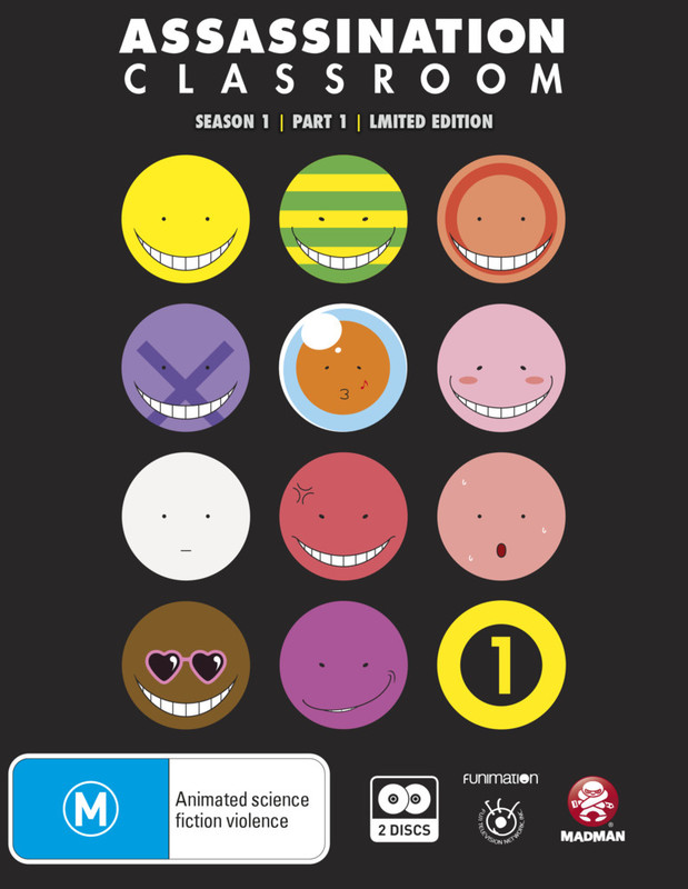 Assassination Classroom - Part 1 Limited Edition on Blu-ray