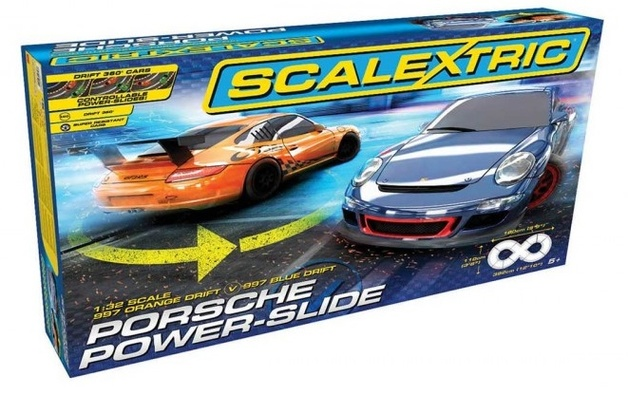 Scalextric: 1/32 Porsche Power-Slide - Race Set