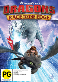 Dragons: Race to the Edge DVD