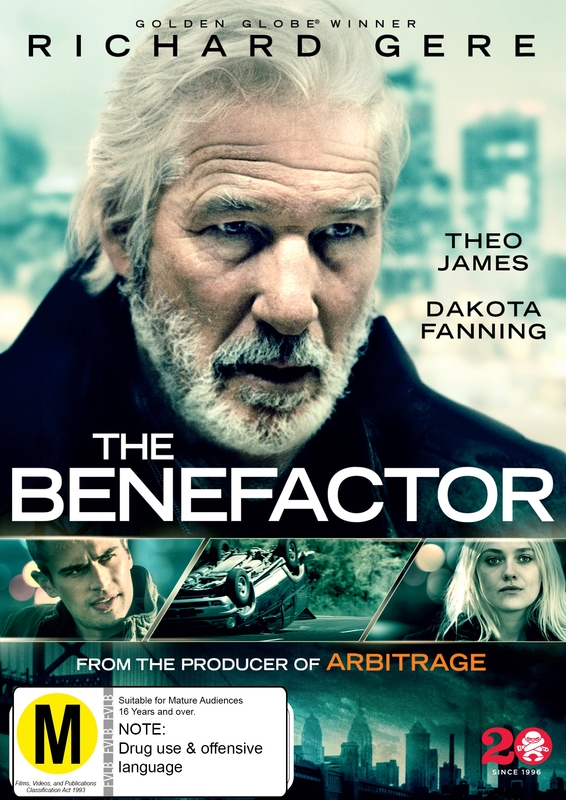 The Benefactor on DVD