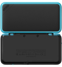 New Nintendo 2DS XL - Black/Turquoise for Nintendo 3DS image
