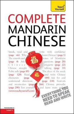 Complete Mandarin Chinese Beginner to Intermediate Book and Audio Course by Elizabeth Scurfield image