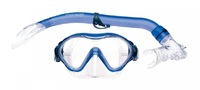 Mirage: S20 Goby - Junior Mask & Snorkel Set (Transparent Blue)
