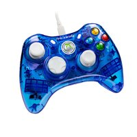 Rock Candy Wired Controller - Blueberry Boom for Xbox 360