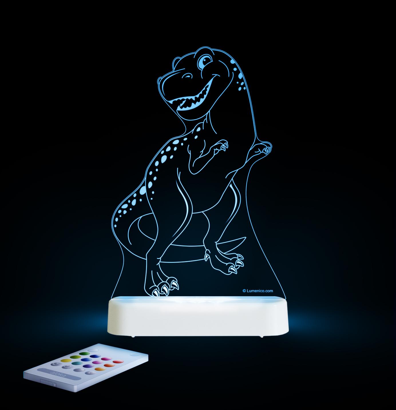 Aloka: Night Light - T-Rex image