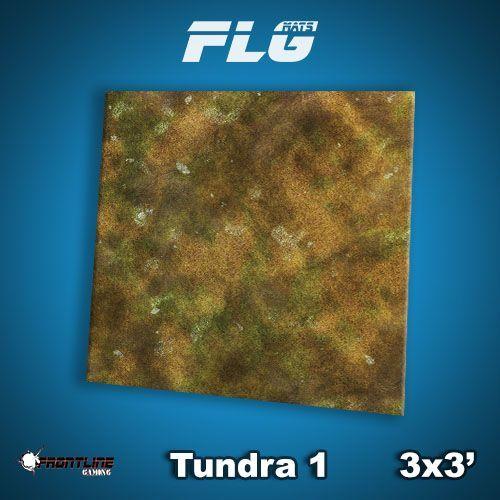 FLG Tundra #1 Neoprene Gaming Mat (3x3)