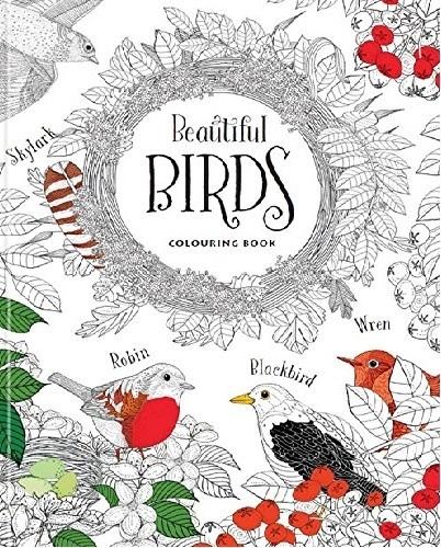 Beautiful Birds - Colouring Book