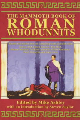 The Mammoth Book of Roman Whodunnits by Mike Ashley image