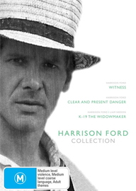Harrison Ford Collection (Witness / Clear And Present Danger / K-19) (3 Disc Box Set) on DVD
