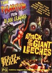Attack Of The Giant Leeches / The Phantom From 10,000 Leagues on DVD
