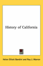 History of California by Helen Elliott Bandini image