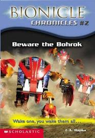 Beware the Bohrok: Wake One, You Wake Them All... by Cathy Hapka image