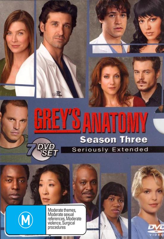 Grey\'s Anatomy - Season 3: Seriously Extended (7 Disc Set)   DVD ...