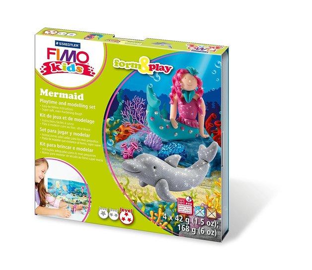 Staedtler Fimo Form & Play Mermaid Modelling Set