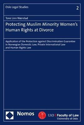 Protecting Muslim Minority Women's Human Rights at Divorce by Tone Linn Waerstad
