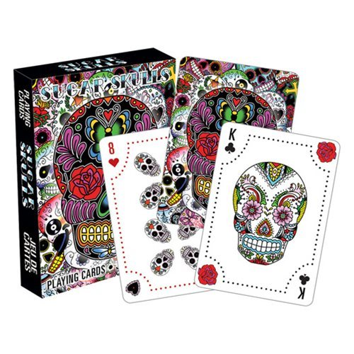 Day of the Dead - Sugar Skulls Playing Cards image