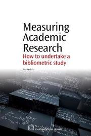 Measuring Academic Research by Ana Andres
