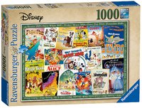 Ravensburger : Disney Vint Movie Posters Puz (1000 Pcs)