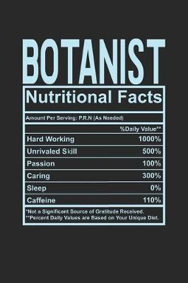 Botanist Nutritional Facts by Dennex Publishing