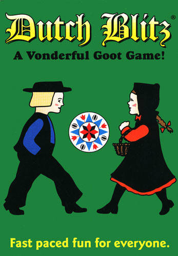 Dutch Blitz: Green - Card Game