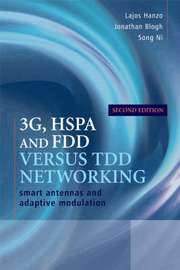 3G, HSPA and FDD versus TDD Networking by Lajos L. Hanzo image