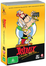 Asterix Animated Collection - Golden Edition on DVD