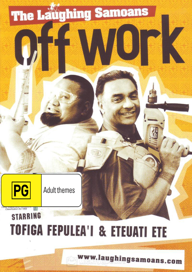 The Laughing Samoans - Off Work on DVD image