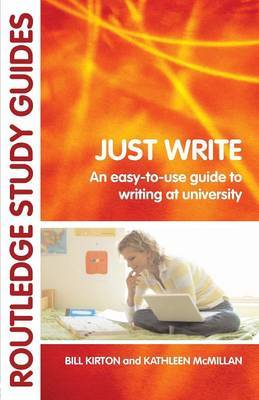 Just Write by Bill Kirton image