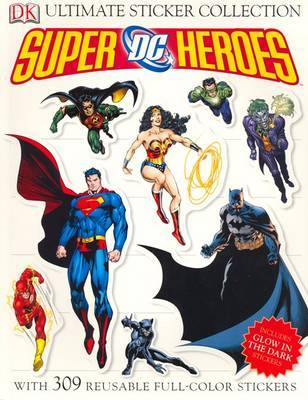 DC Superheroes Ultimate Sticker Binder