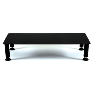 Fluteline Large High Monitor Stand - Black