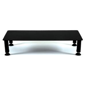 Fluteline Large High Monitor Stand - Black