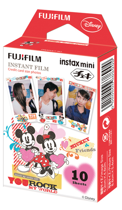 Fujifilm Instax Mini Film 10 Pack - Mickey Mouse image