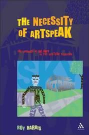 The Necessity of Artspeak by Roy Harris image