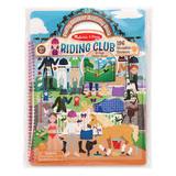 Melissa & Doug: Puffy Sticker Play Set - Riding Club