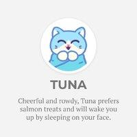 "Purritos: Tuna - 7"" Plush (Blue)"