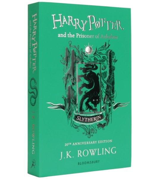 Harry Potter and the Prisoner of Azkaban – Slytherin Edition (Paperback) by J.K. Rowling