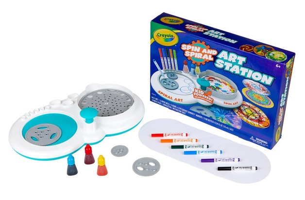 Crayola: Spin and Spiral - Art Station