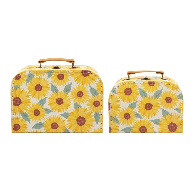 Sass & Belle: Sunflower Suitcases - Set of 2