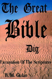 The Great Bible Dig: Excavation of the Scriptures by Bonnie M Gulan image
