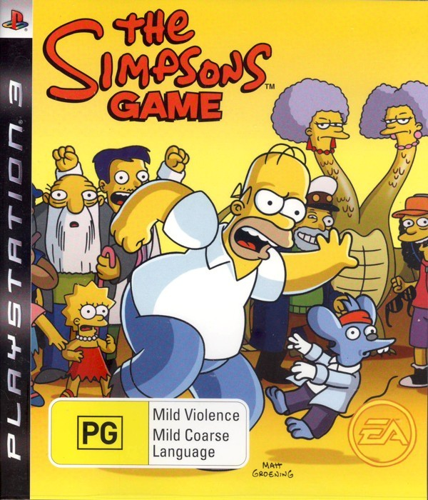 The Simpsons Game for PS3