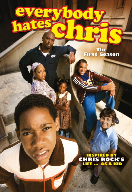 Everybody Hates Chris - Season 1 (4 Disc Set) on DVD image