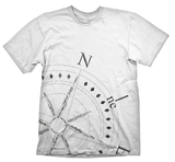 Uncharted 4 Compass T-Shirt (XX-Large)